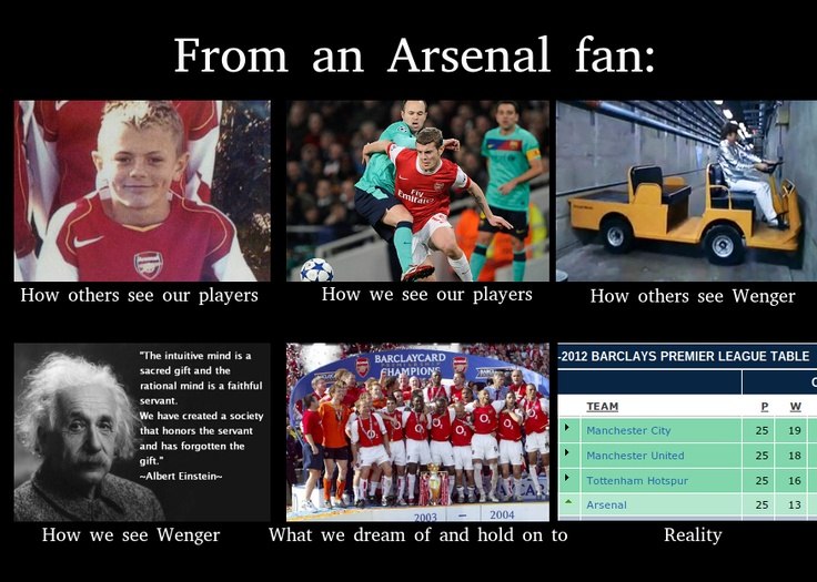 Arsenal meme | North London is Red | Pinterest | Fans, A