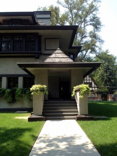 Oak Park Walking Tour of Frank Lloyd Wright Homes ~ Oak Park, IL