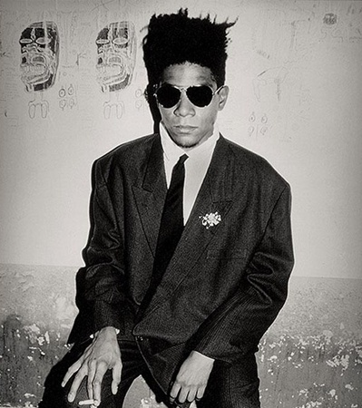 Basquiat  Amazing Artist represented by the Art Dealer I worked for in New York...