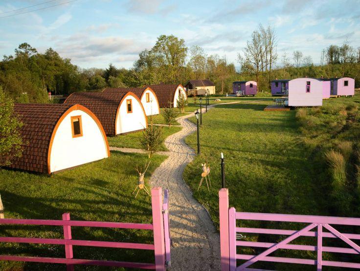 Battlebridge Caravan & Camping Park Leitrim Village, Carrick-on-Shannon, Co Leitrim, Ireland. Holiday. Travel. Glamping. Pub. Free WiFi.