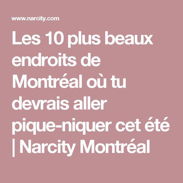 Les 10 plus beaux endroits de Montréal où tu devrais aller pique-niquer cet été  | Narcity Montréal