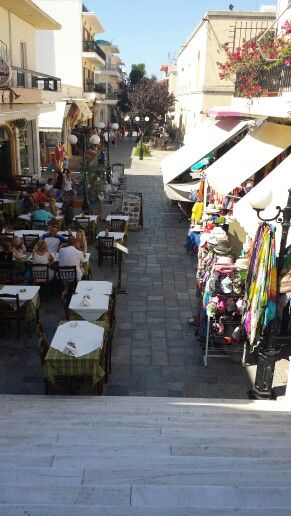 Town in kos Greece tourism Central. Cultural traditional food.