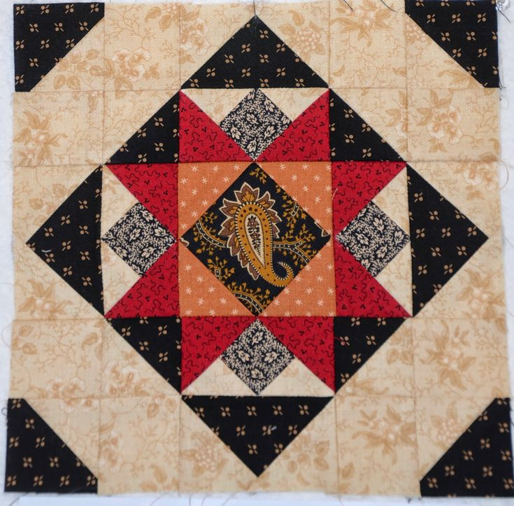 Sew'n Wild Oaks Quilting Blog: instructions for this block plus other blocks as part of a BOM