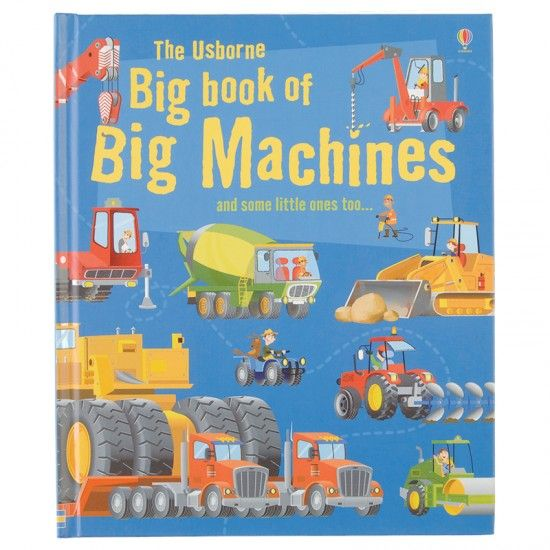 The Usborne Book of Trucks Young Machines Series