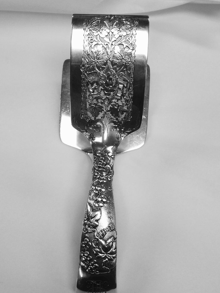 Tiffany Vine Asparagus Server At Copper Lamp Dallas | Vintage Silver |  Pinterest | Copper Lamps, Flatware And Utensils