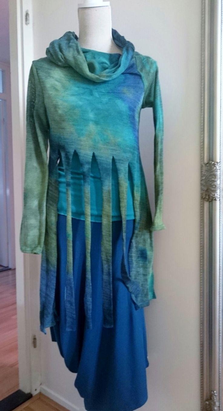 Prachtige set van rok en top in eem mooie kwalitiet tricot. Maat S www.EchtHelemaalAsje.nl