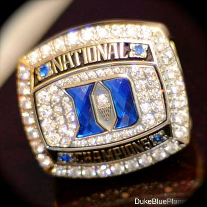 2010 National Championship Ring