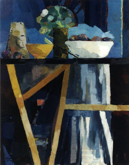 유 Still Life Brushstrokes 유 Nature Morte Painting by Bénédicte Garnier-Fihey | Nature morte aux figues
