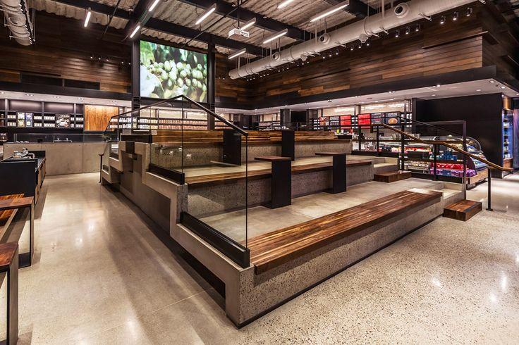 ラスベガスにオープンした新しいコンセプトの Starbucks