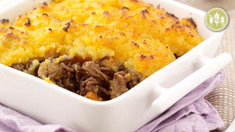 Shepherd's Pie with Root Vegetable Mash