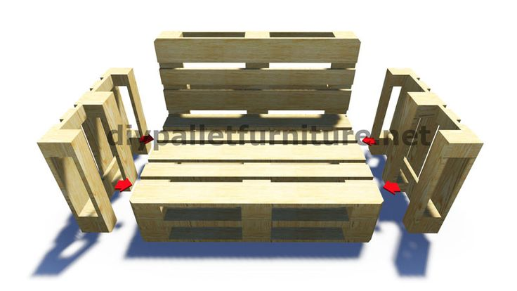 25 best ideas about pallet furniture instructions on - Faire un canape avec des palettes ...
