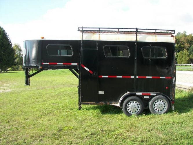 The 25 best horse trailers for sale ideas on pinterest small 1996 mcbride 2 horse trailer for sale for sale in orton ontario ads sciox Image collections