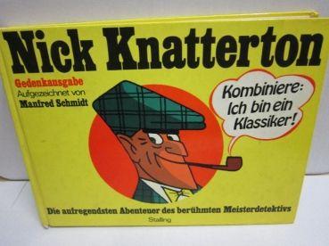 Comic Buch Nick Knatterton Kombiniere: Ich bin ein Klassiker! STALLING