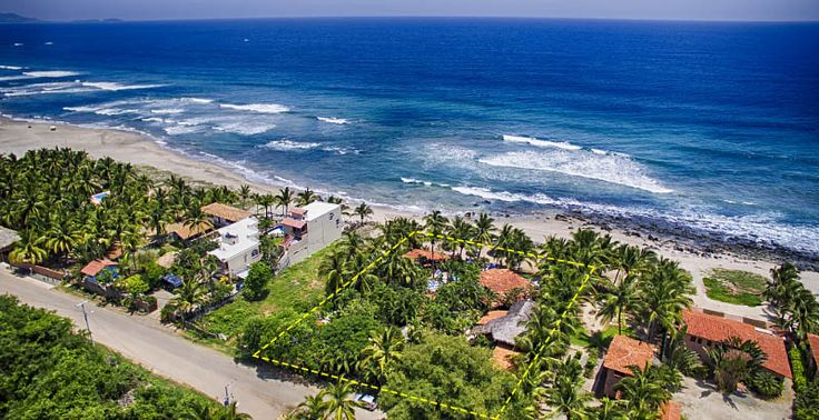Casa Ki Bungalows - Bed and Breakfast Inn, Troncones Beach, Mexico