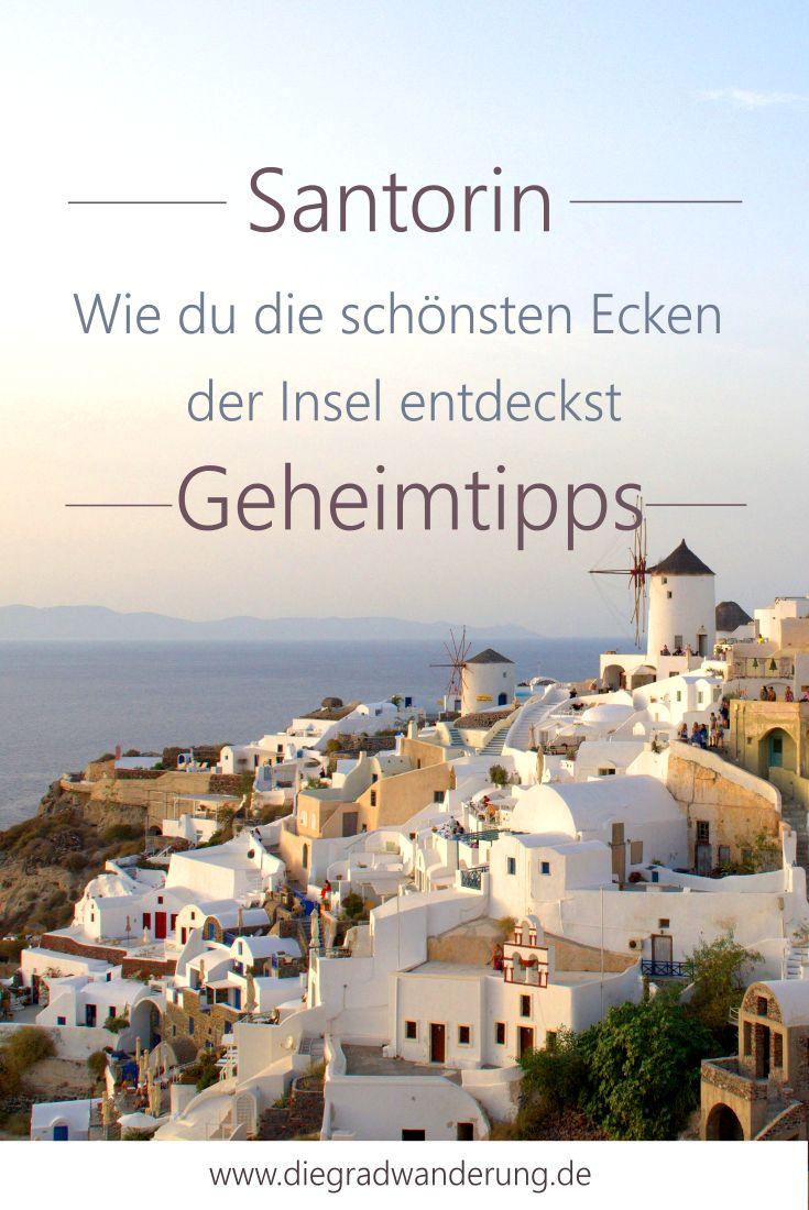 Santorin Geheimtipps: 5x Inspiration für die Insel mit dem schönsten Sonnenuntergang. Santorin Geheimtipp. Santorin Hidden Gem. Santorin Secret Places. Secret Santorin. Santorin Sunset.