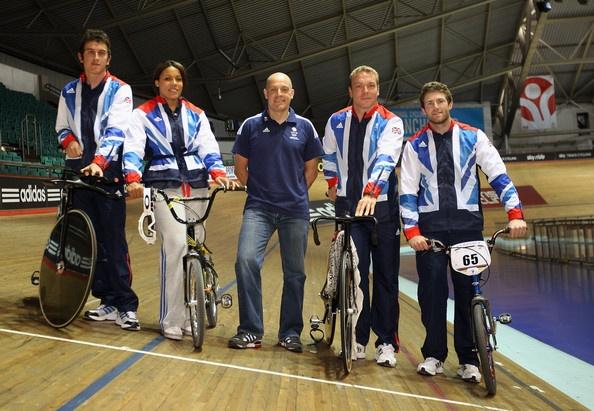 Dave Brailsford Photo - Team GB Track Cycling Athletes Announced For London 2012 Olympic Games Geraint Thomas, Liam Phillips, Shanaze Reade, Sir Chris Hoy