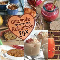 20x gezonde recepten met rabarber