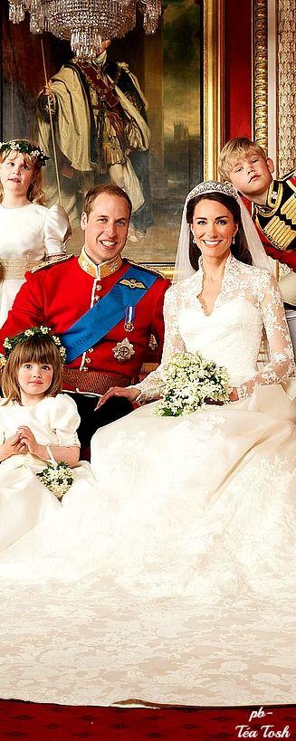 The Royal Wedding photo bomb