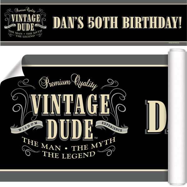 Personalize It Add Custom Options To Vintage Dude Custom