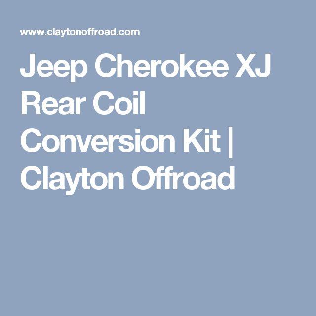 Jeep Cherokee XJ Rear Coil Conversion Kit | Clayton Offroad