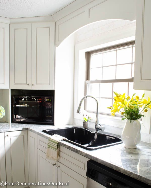 Our Beach House Kitchen The Reveal: 17 Best Ideas About Super White Granite On Pinterest