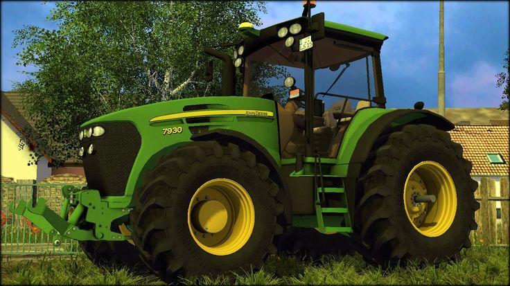 John Deere 7930 Full Script v3.0 - http://fs15world.com/tractors/john-deere-7930-full-script-mod