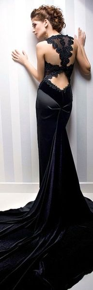 Rochii de Seara 2013: Evening Dresses, Wedding Dressses, Black Dresses, Wedding Dresses, Velvet Angel, De Seara, Black Gowns, Dresses, Open Back