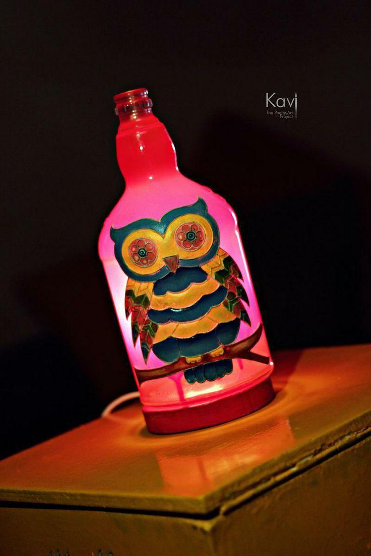 Night lamps india - Owl Night Lamp