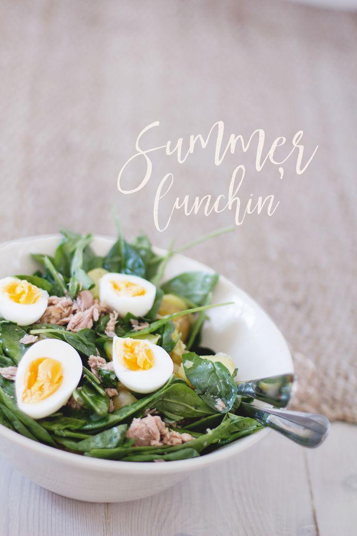 Summersallad with tuna. #recept #sallad