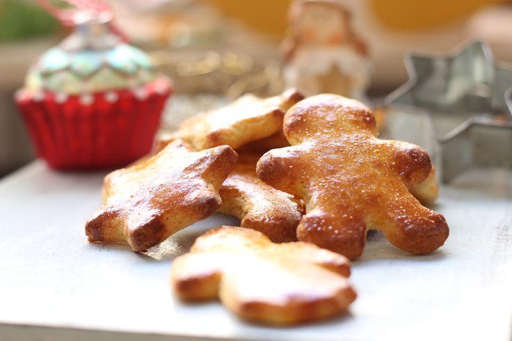 Low Carb Rezepte von Happy Carb: Butterplätzchen - Die einfachen Low Carb Butterplätzchen dürfen auf keinem Weihnachtsteller fehlen