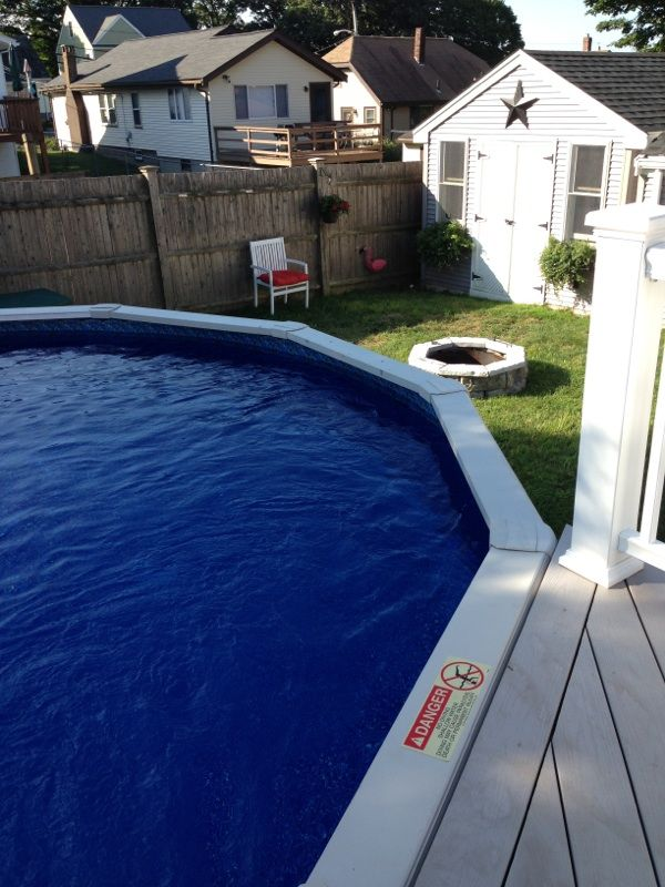 17 Best Images About Our Above Ground Pool Pictures On Pinterest Above Ground Pool Liners