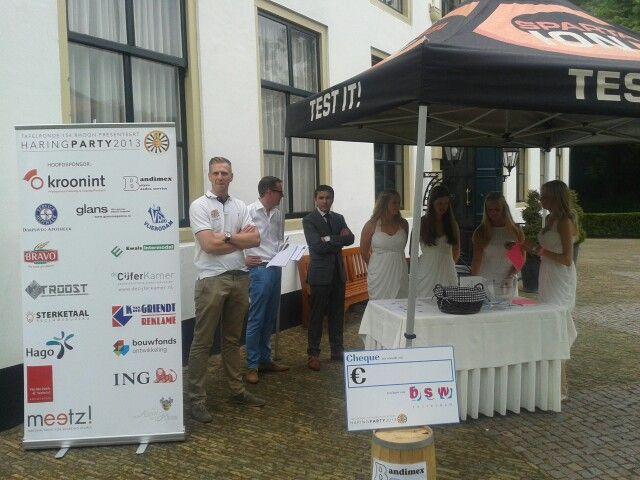 Meetz! was sponsor van de Haringparty 2013 in Kasteel van Rhoon