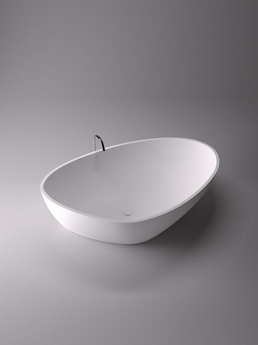Agape 2014 Drop bath in Cristalplant. Agape Bathrooms from Liquid Design +44 (0)1604 721993