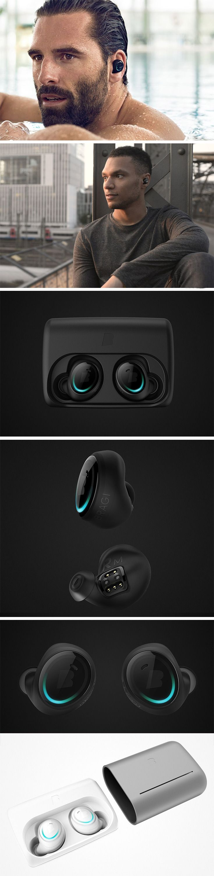 The Dash combines 3 essential features in 1 product: music, fitness tracking, and communication. You can run, dance, swim and talk all without taking them out. Unless you're syncing or charging, there's almost no reason to take them out! Better yet, you can use them with any device, Apple or Android! BUY NOW!