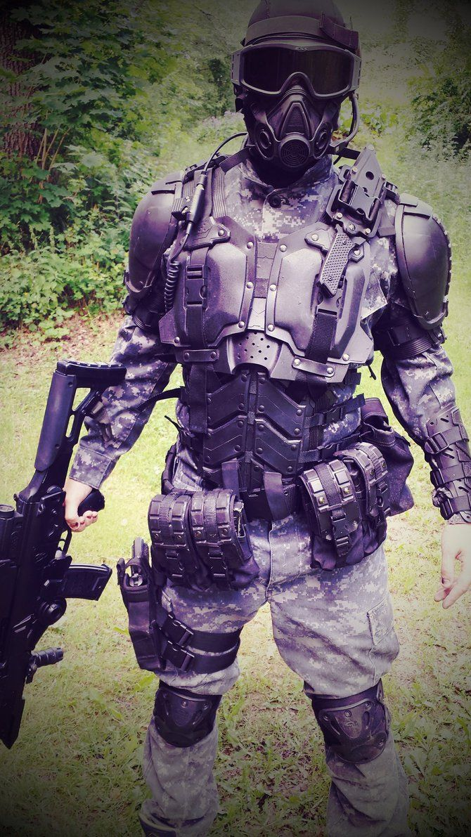 S.P.A.R.C armor new! by Sharpener on deviantART [ UpUrGame.com ] #paintball #gear #game
