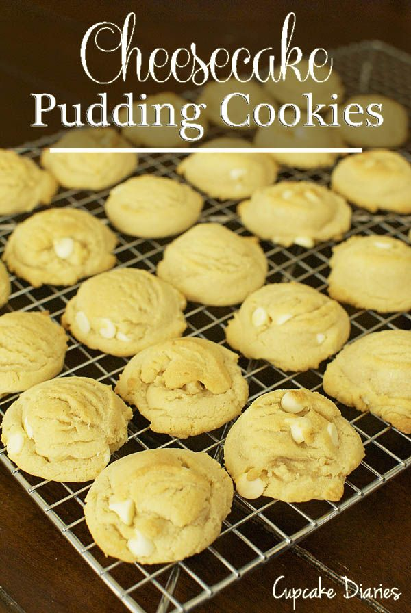 Cheesecake Pudding Cookies on MyRecipeMagic.com
