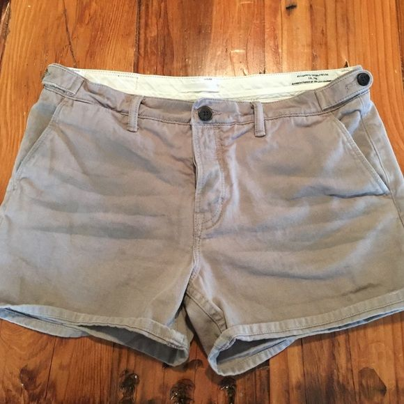 AllSaints Shorts AllSaints shorts - style is called the Kite Kari in a tan or khaki color. Very cute on, good fit. Says size 10 but that's UK - closest to a US 4 or 6. The darker whiskering is factory done. No flaws. All Saints Shorts