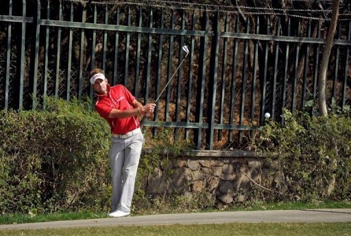 Kruger leads tight field in Avantha Masters