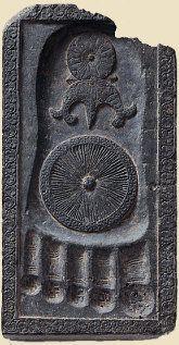 Footprint of Buddha, Pakistan 2nd - 3rd centuries A.D.