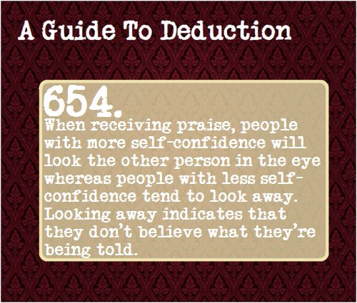 A Guide To Deduction. Not from Sherlock but I'll take it.