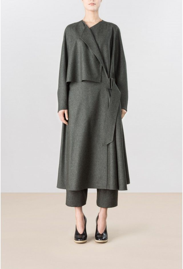 TRENCH DRESS - LEMAIRE