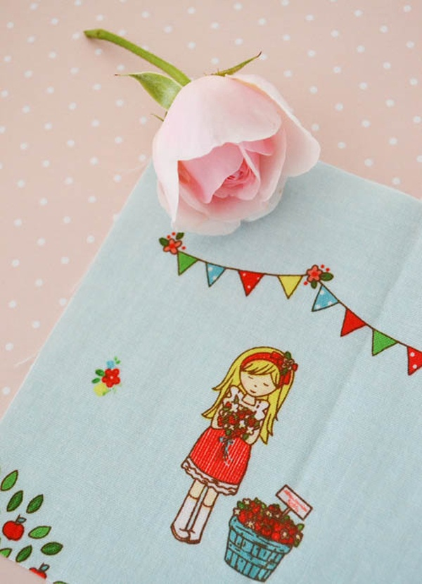 Miss Strawberry ~ The Simple Life fabric