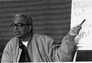 TKV Desikachar teaching at Gaunts House