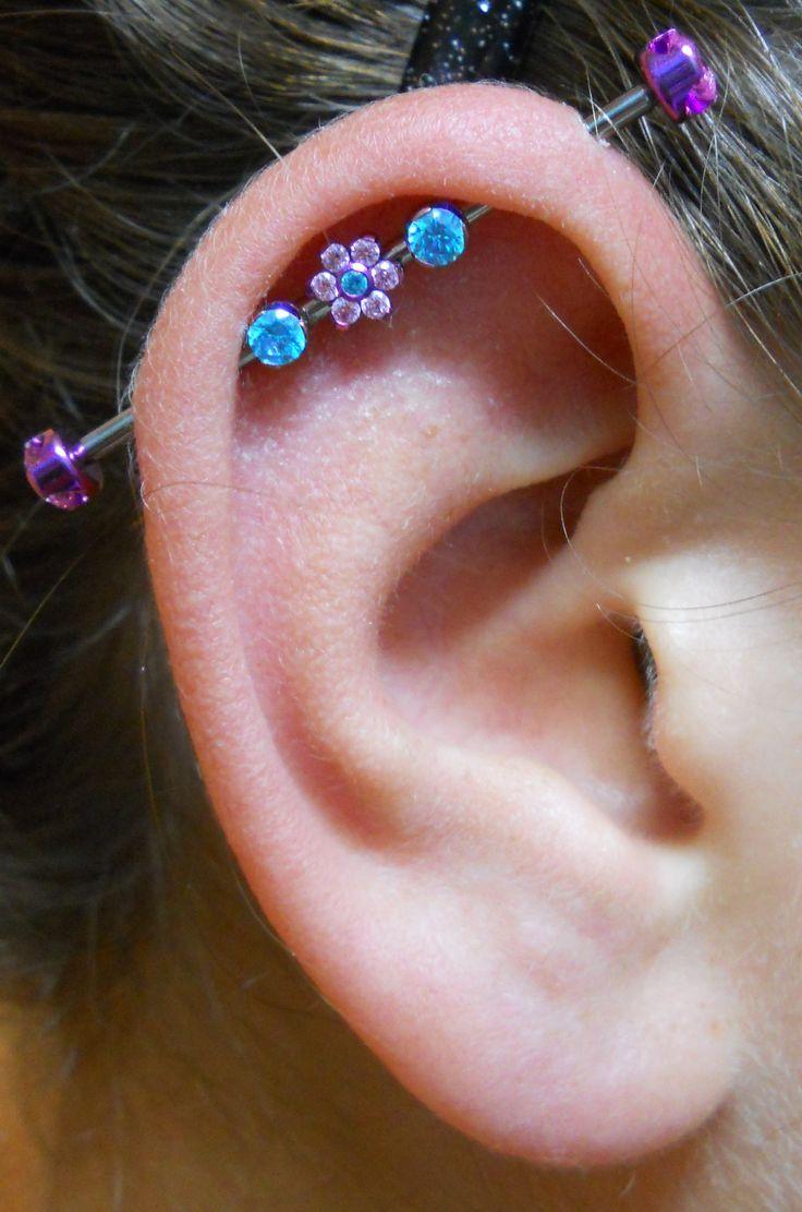 Industrial Piercing By Lonnie Body Jewelry By Anatometal