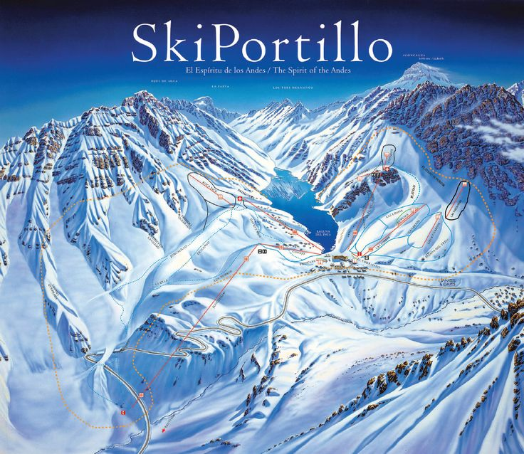 Ski Portillo 5