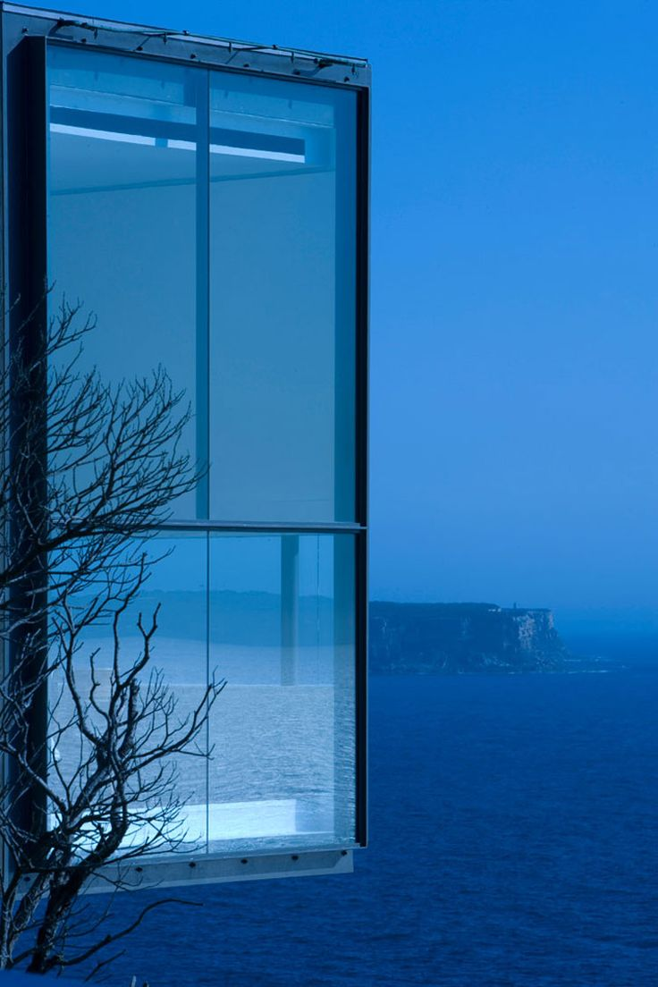 Cliff House: Architects, Beaches House, Window, Blue, Durbach Blocks, Interiors Design, Blocks Jagger, House Architecture, Holman House