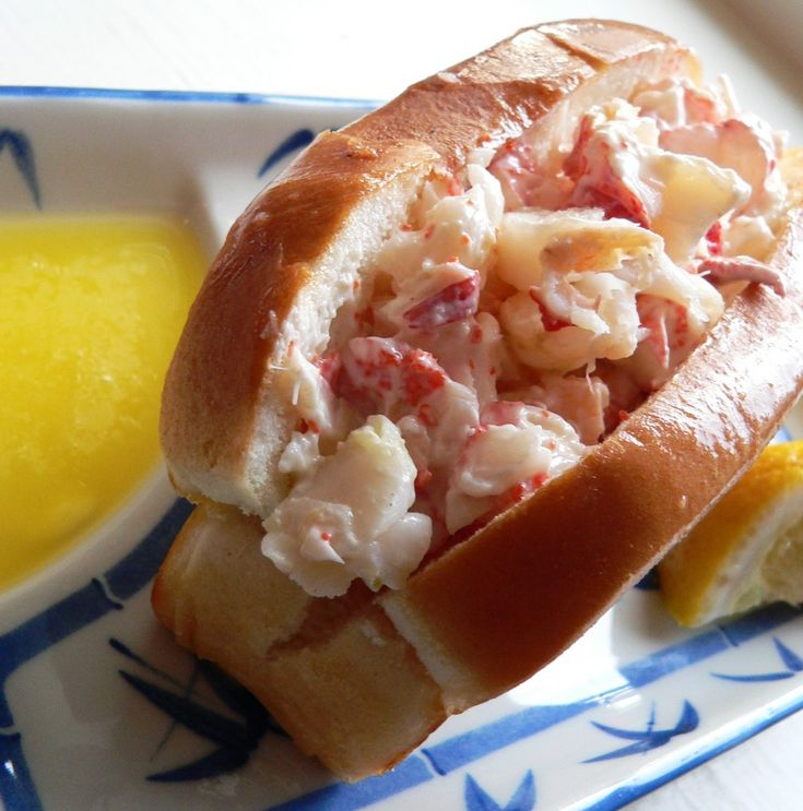 Lobster Roll (hot Dog Bun, Toasted And Buttered, No Celery Please)