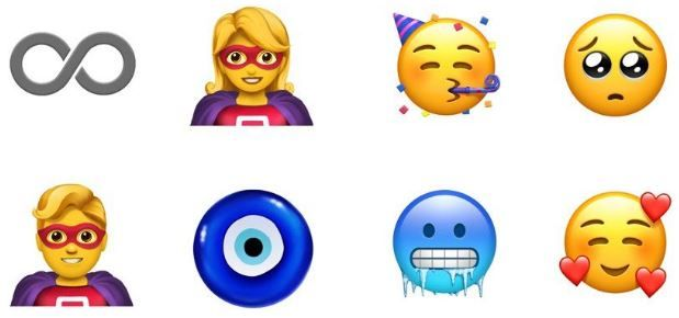 Apple Is Adding More Than 70 New Emojis For Iphone Ipad And Apple Watch Users Including A Bagel A Broom And A Badger Emoji Emoji Backgrounds Cool Emoji