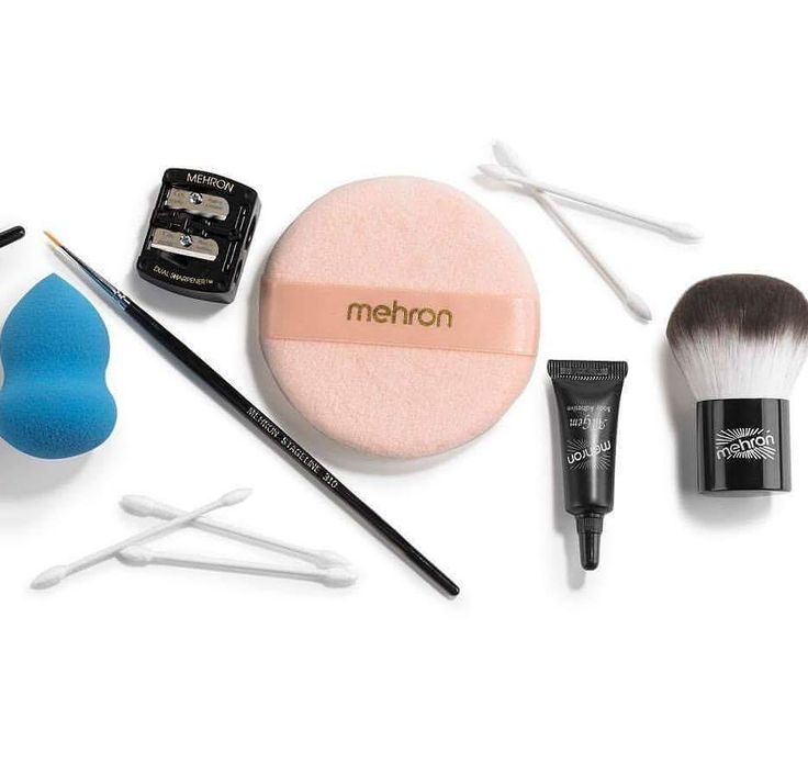 The tools... the most important element in makeup application!  #MehronTools #MehronBeauty #FaceSmoothie #FaceKabuki #Adgem #PowderPuff  #makeup #theatricalmakeup #mehron #mehronmakeup  Contact us at 585-482-8780 for more information or check out select costumes and accessories on our website www.arlenescostumes.com including theatrical makeup and tools!