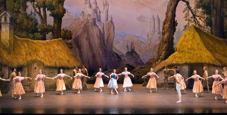 Giselle, performed by the Paris Opera Ballet at the Capitol Theatre, Sydney
